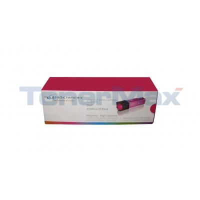 MEDIA SCIENCES TONER CARTRIDGE MAGENTA HY FOR DELL 2130N